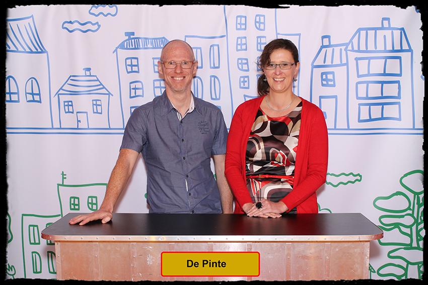 Ann Van De Velde en Frédéric Bruynings